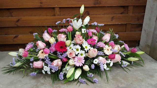 Gerbe florale rose
