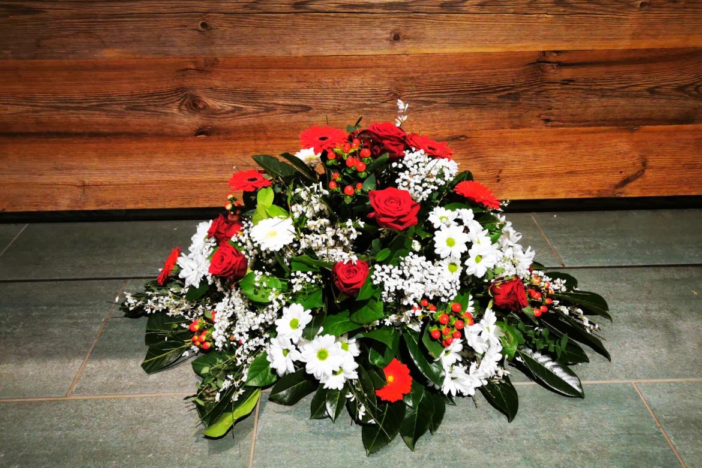 Gerbe florale rouge